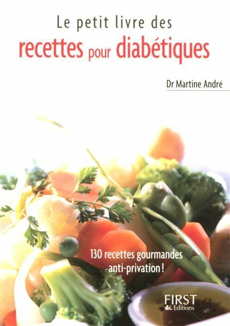 petit livre de recettes pour diabétiques