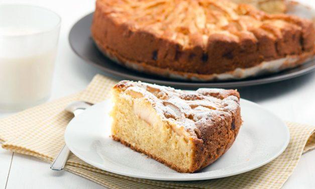 Gâteau aux pommes pour diabétiques